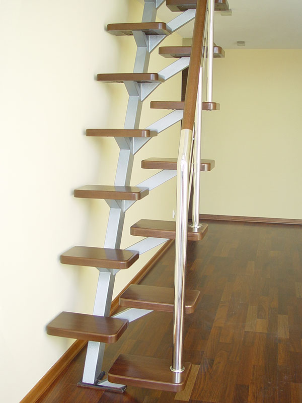 Лестница гусиный шаг фото
