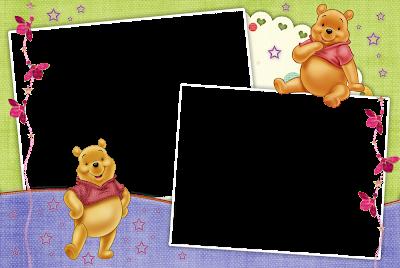 marco de foto winnie pooh