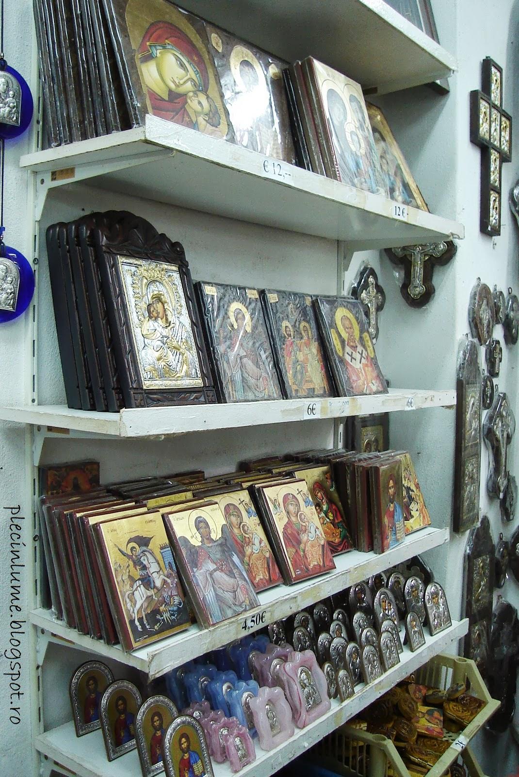 Atelier de icoane langa Meteora