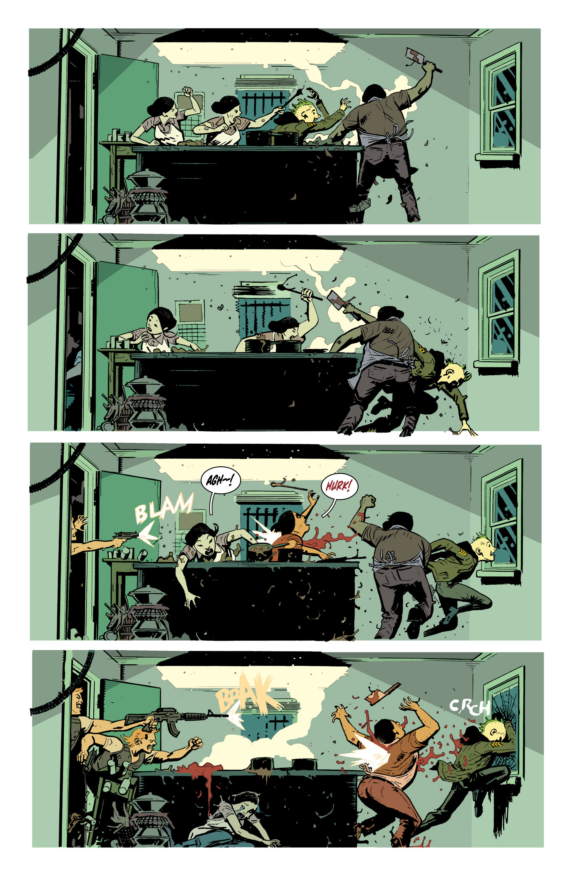 Read online Deadly Class comic -  Issue #19 - 7