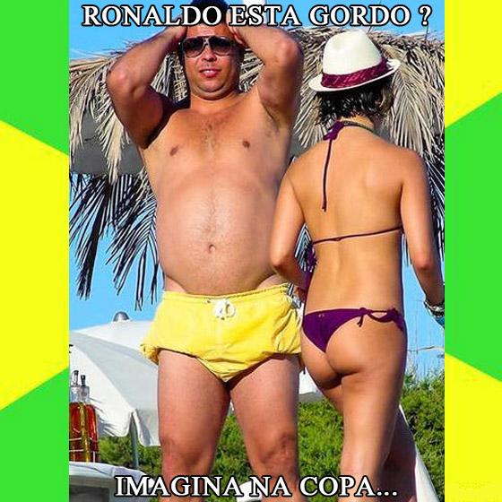Imagina na copa do Mundo 2012 Brasil - Imagens Engraçadas - Humor - Ronaldo gordo