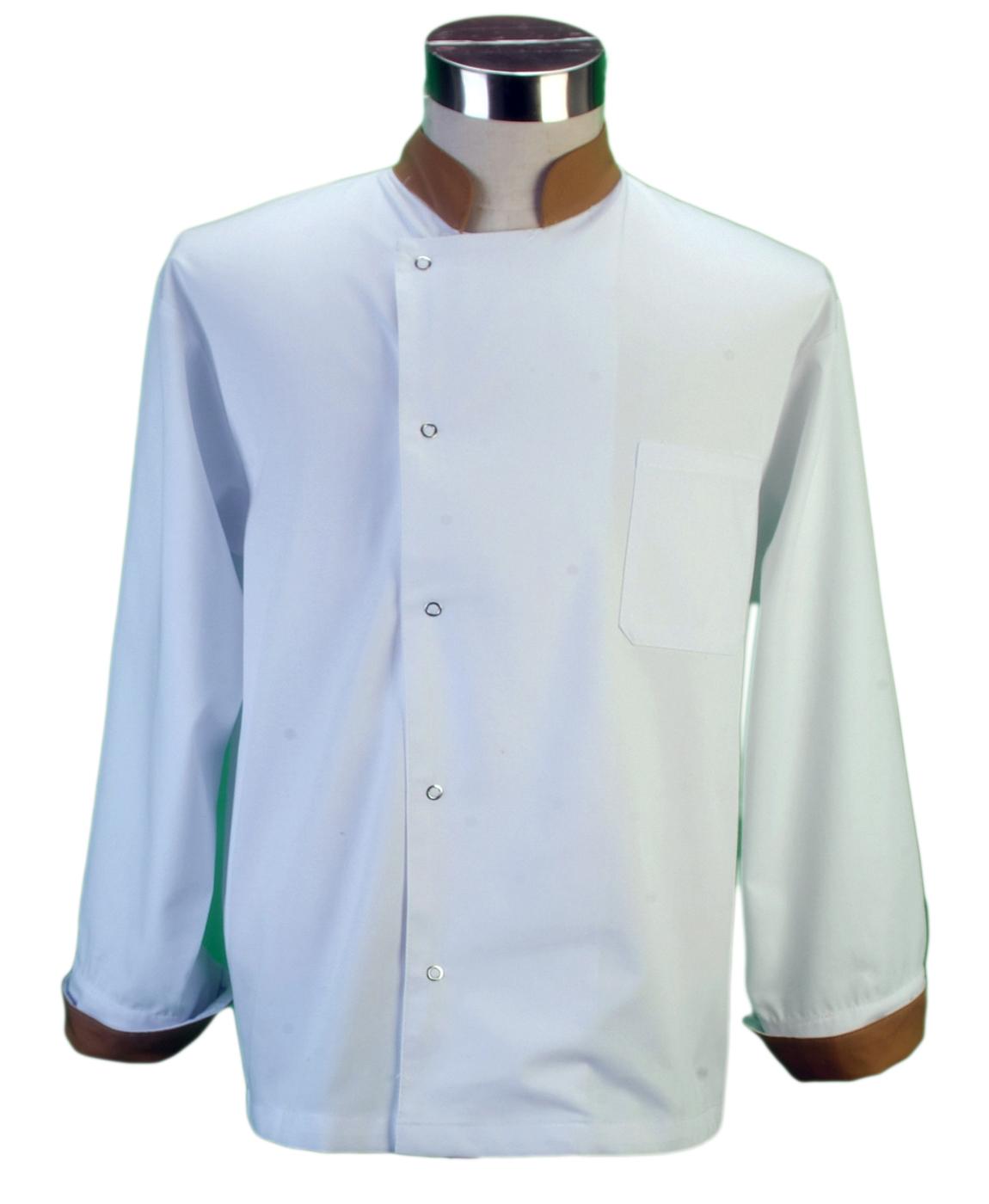 Ampliar Imagen: Chaqueta Cocinero Unisex 2 Tonos - MORU®