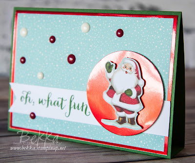 Oh What Fun Father Christmas Card - get the details here