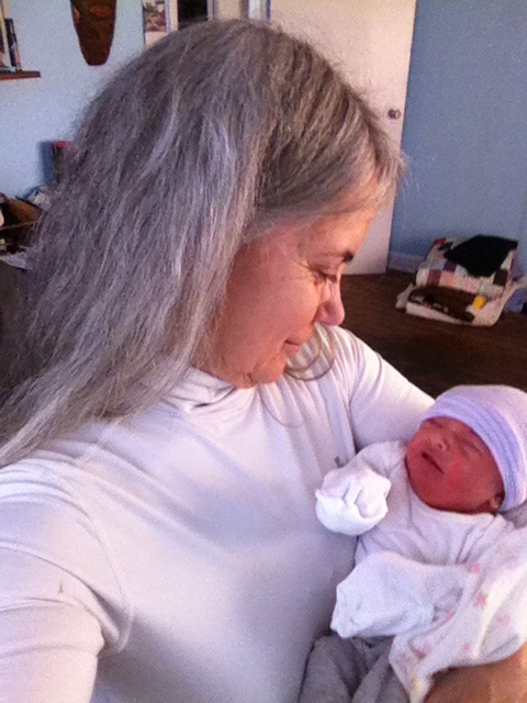 Introducing Brim Leigh Buchanan - our newest grandchild!