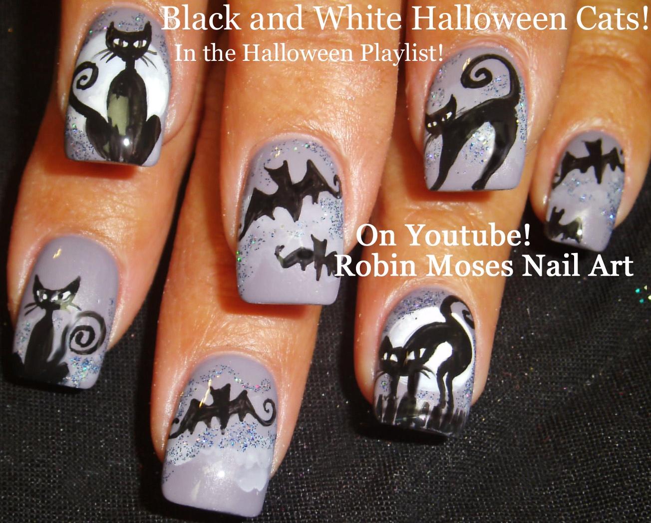 Robin moses nail art halloween nails halloween nail art diy halloween nails halloween nail art diy halloween nails prinsesfo Gallery