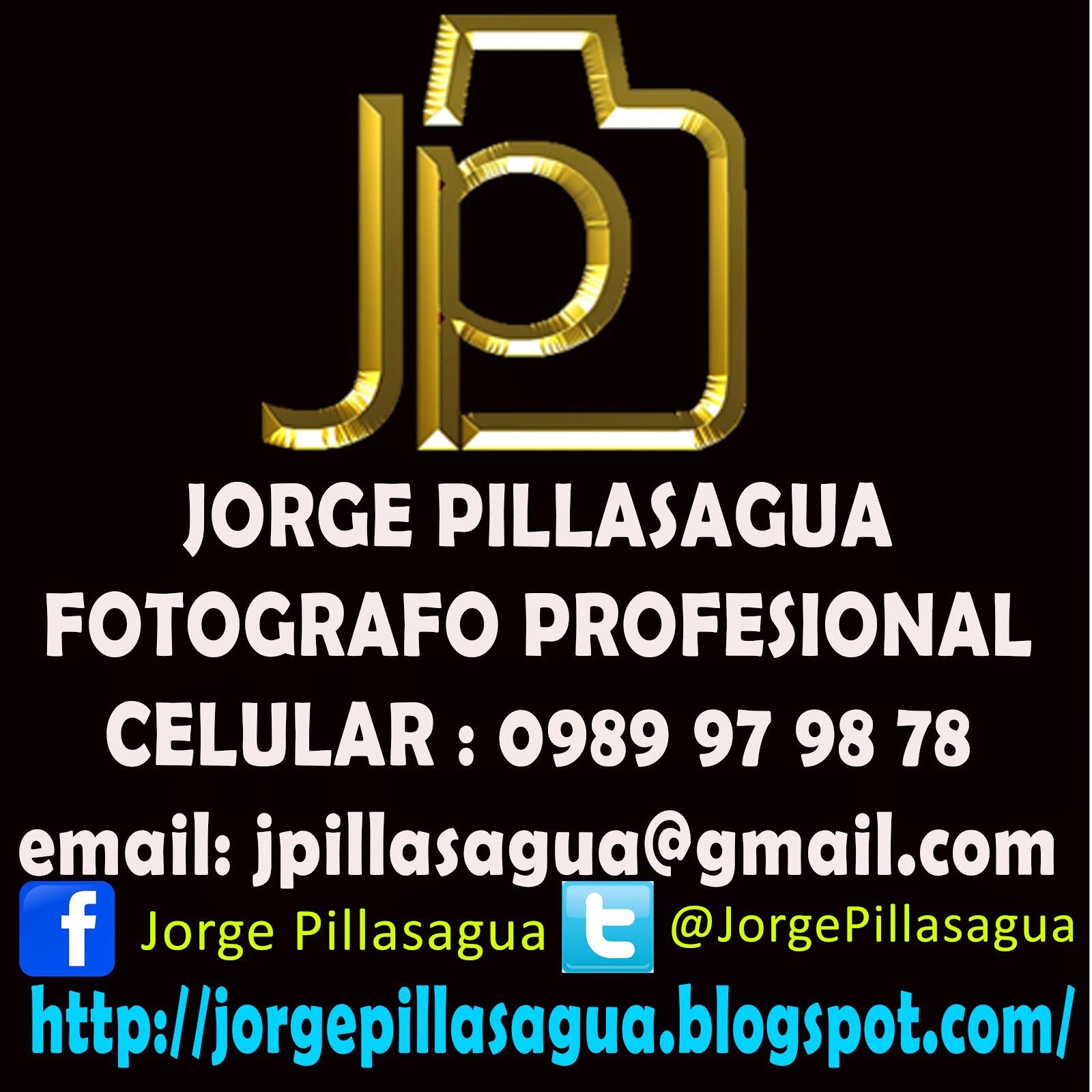 Mi tarjeta de presentación - jorge Pillasagua - Fotógrafo Manabita Portoviejo