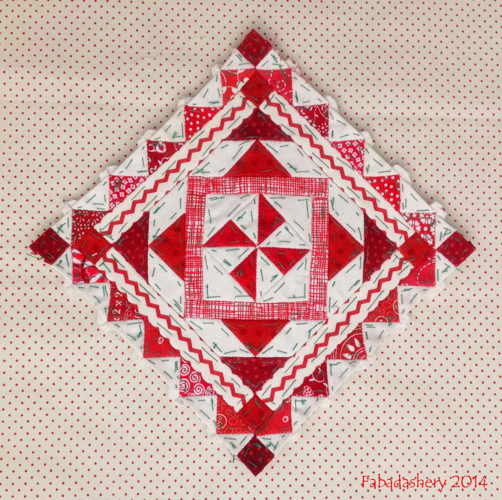 Nearly Insane Quilt - Block 16