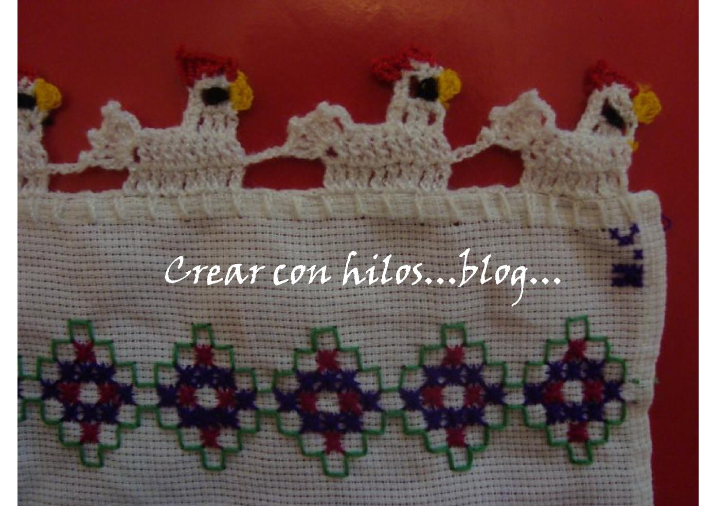 Puntas Para Servilletas En Crochet