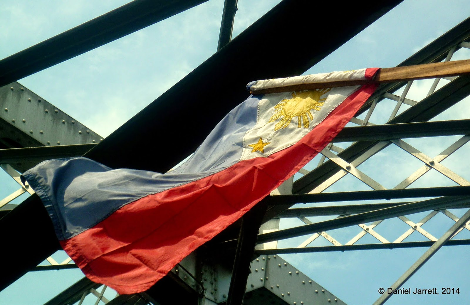 Philippine Flag Bridge Manila