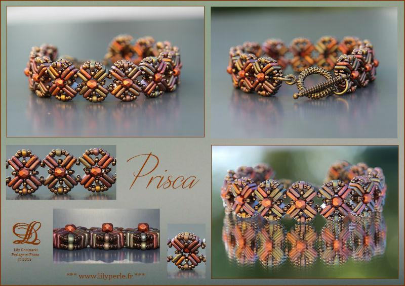 Bracelet Prisca par Lylyperle