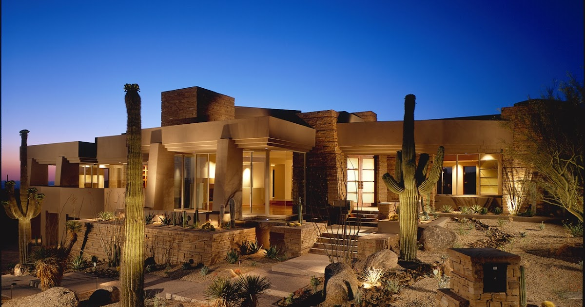 What is architectural drawing: Modern Desert House For Luxury Life In The  Nature, Scottsdale, Arizona