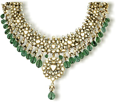 kundan jewellery designs