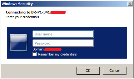 TechPerspect Blog: Bypassing authentication prompt when opening