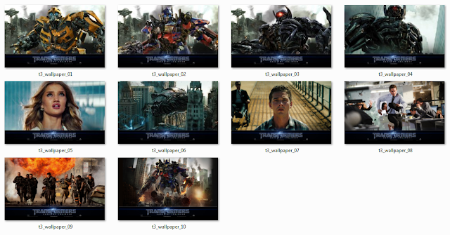 Windows 7 Themes Transformers 3