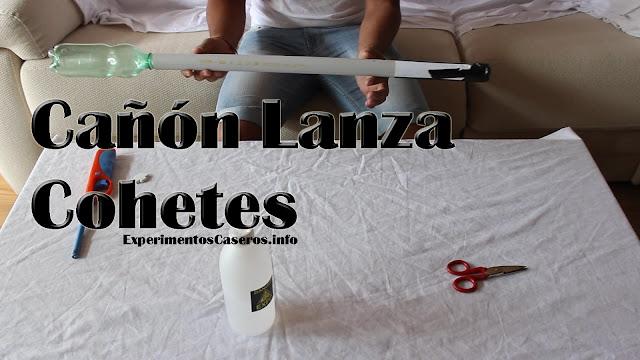 Cómo hacer un cañón de cohetes, LanzaPatatas