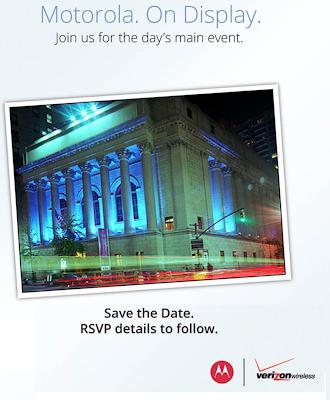 Motorola & Verizon September 5th Event