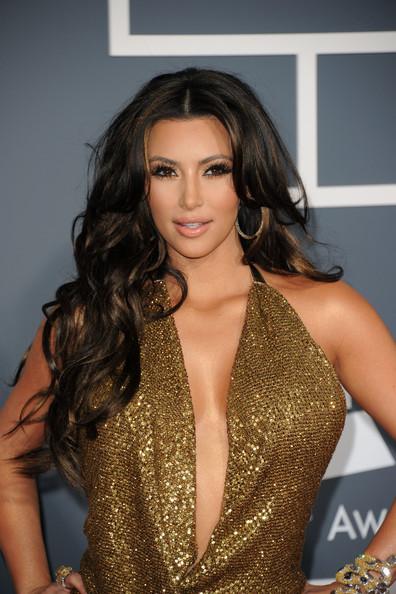 Kim Kardashian hairstyles 2011