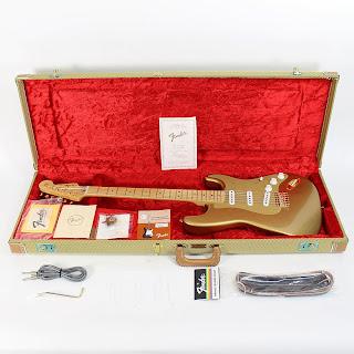 Fender CS Gold H.L.E. 57 RI Stratocaster