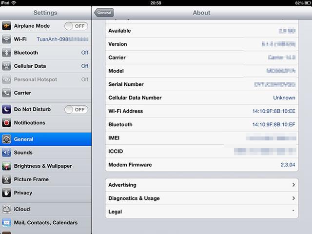 Cách kiểm tra độ chai pin iPhone, iPad không cần jailbreak
