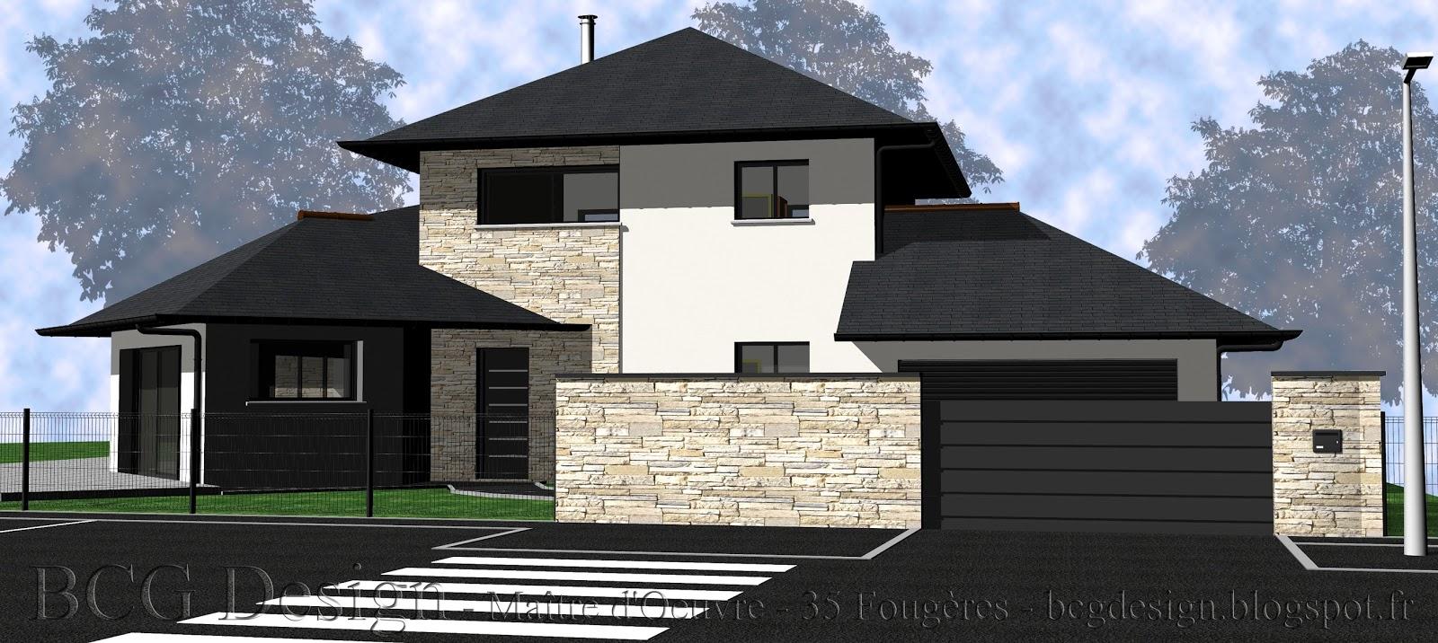 Maison maitre d oeuvre duune maison rt les bains with for Construire une maison avec un architecte