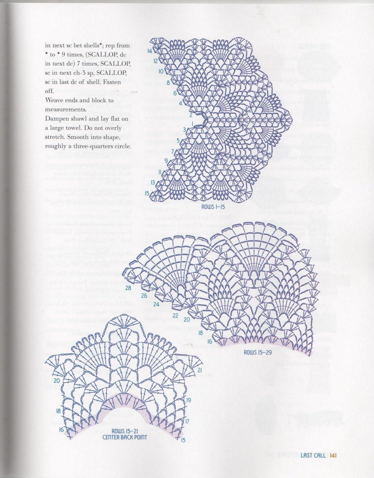 Ткань и вязание крючком схемы и описание 95