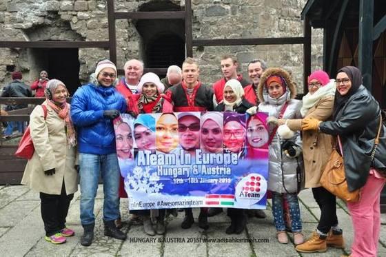 Klip video Ateam In Europe - Hungary dan Austria
