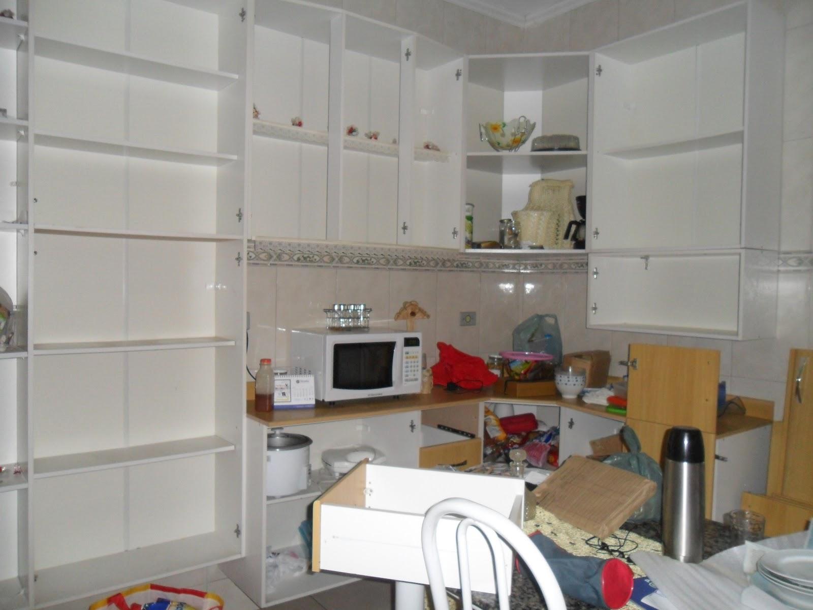 Idéias com Munelise: Armário de cozinha reciclado #693A2D 1600 1200