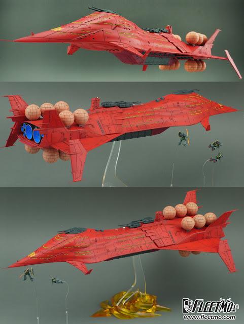 Zeon Fleet UC 0079 Scratch Build model kit