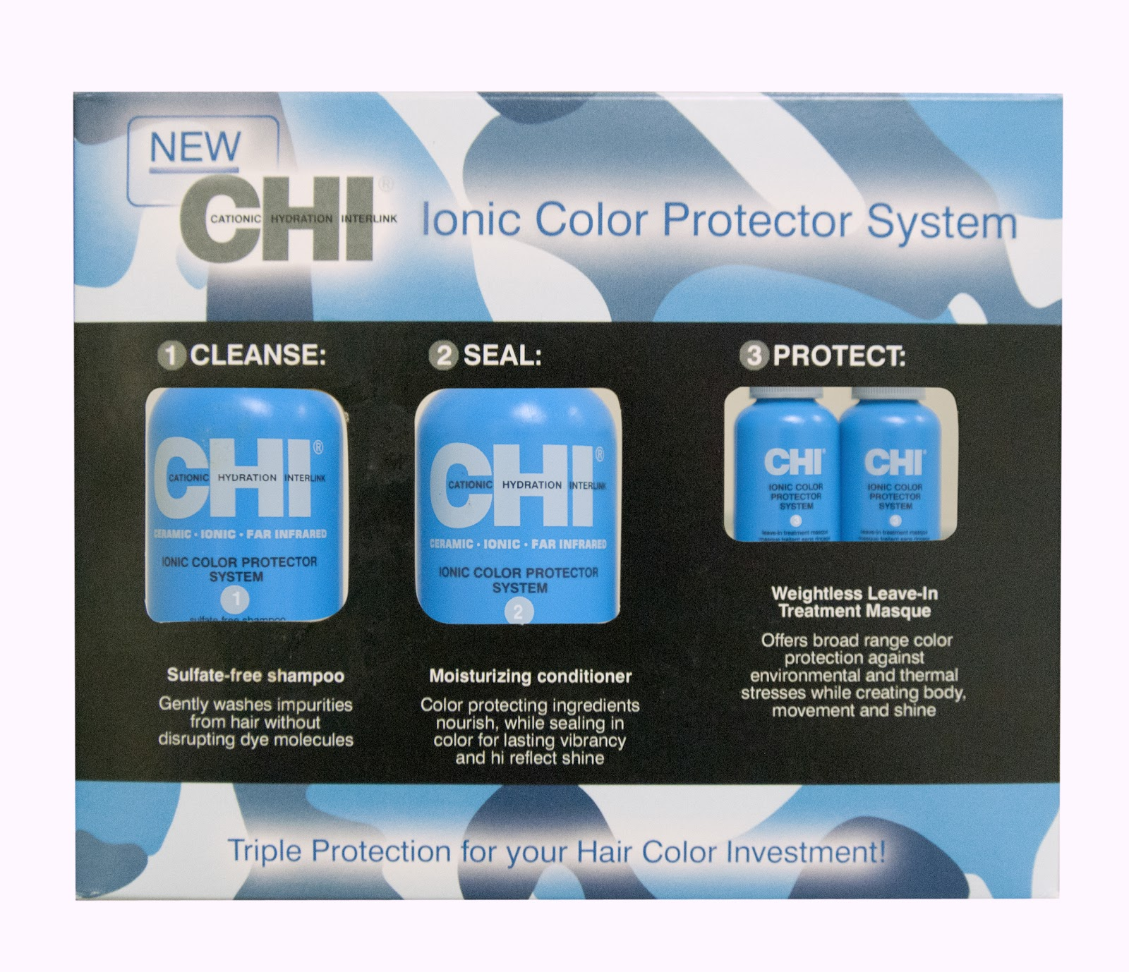 Focus On Hair Chi Ionic Color Protector System Trial Kit