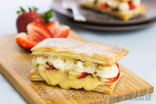Strawberry Custard Pastry02
