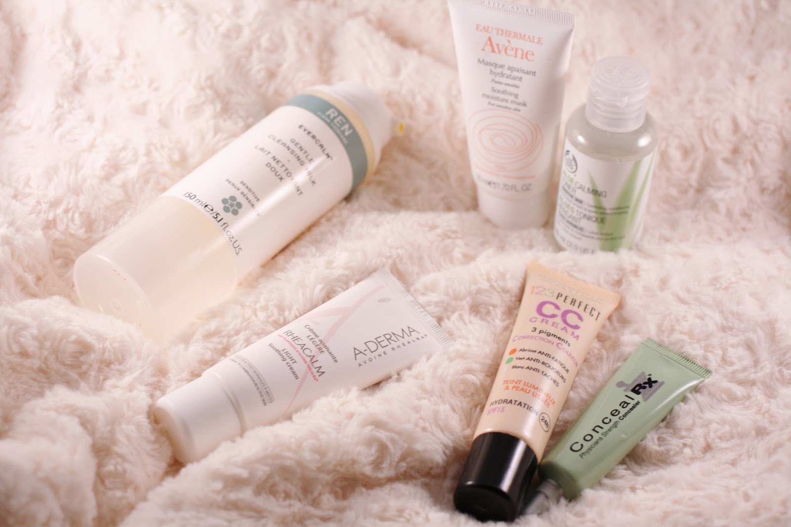 Skin Products for Rosacea
