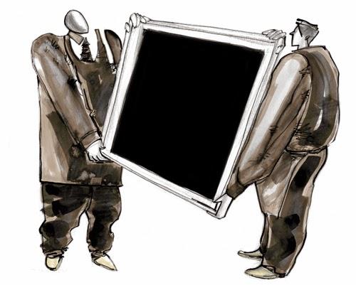 Black hole francisco lanca illustration