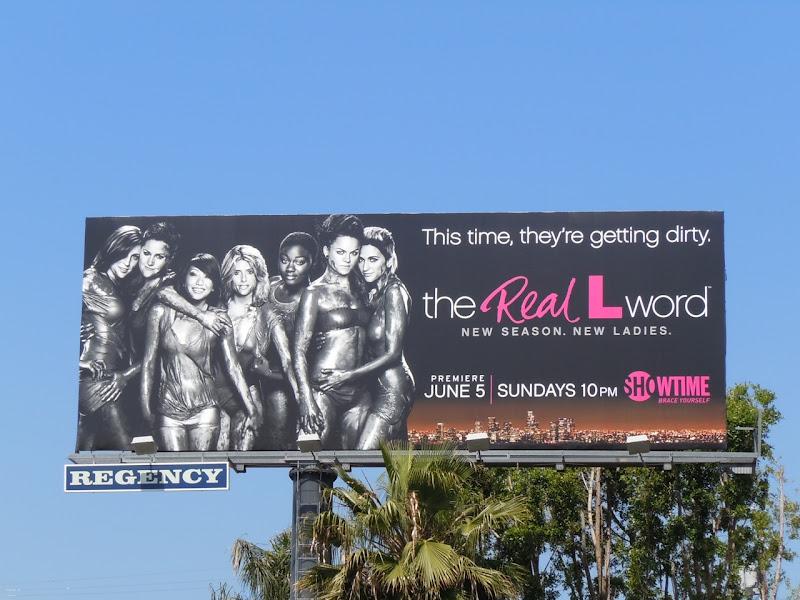 The Real L Word 2 TV billboard