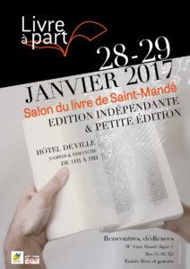 Dédicace à Saint-Mandé en janvier
