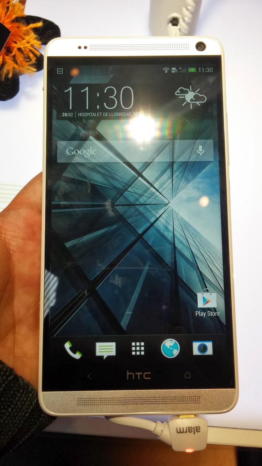 HTC One max, el nuevo Phablet de la marca HTC