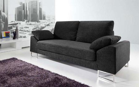 Decoraci n de interiores sala moderna sof s for Sillones para departamentos