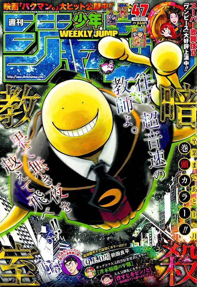Ranking Weekly Shonen Jump 47 2015