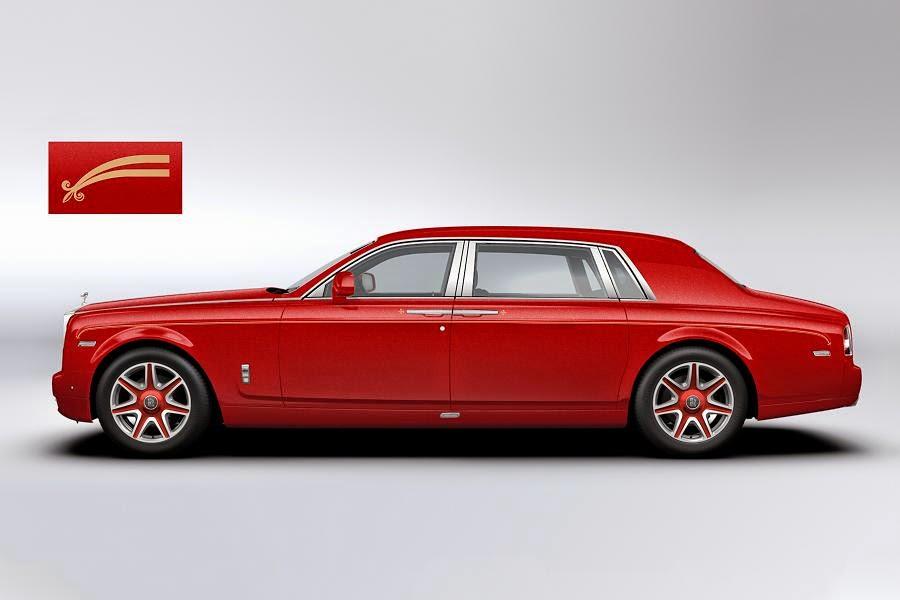 Rolls-Royce Phantom Extended Wheelbase Louis XIII (2014) Side