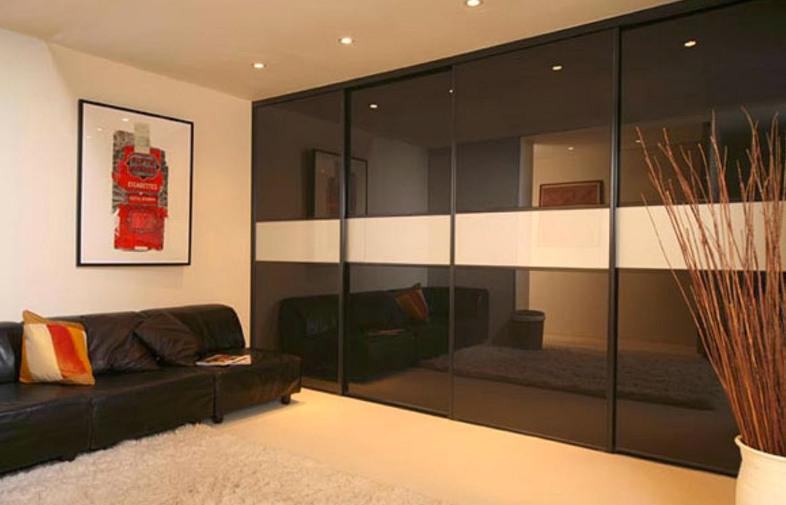 Дизайн шкафа для зала