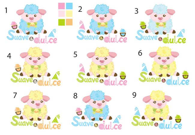 Dibujos de ovejas tiernas a color - Imagui