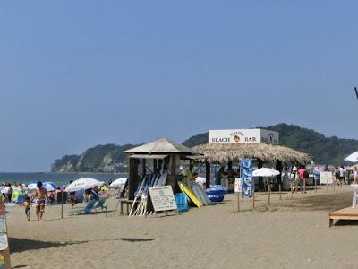 夏の由比ヶ浜