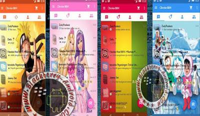 BBM Mod Fitur Ganti Gambar Background Tema Evolution v2.9.0.51