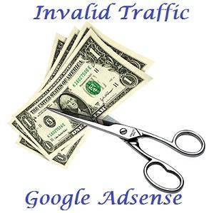 Invalid traffic Google adsense