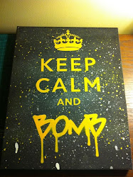 keep calm and bomb