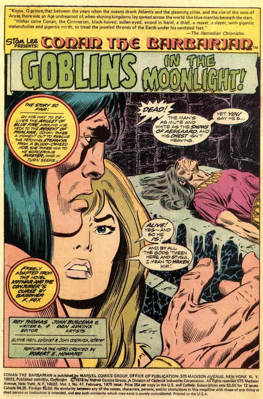 Conan the Barbarian (1970) Issue #47 #59 - English 2