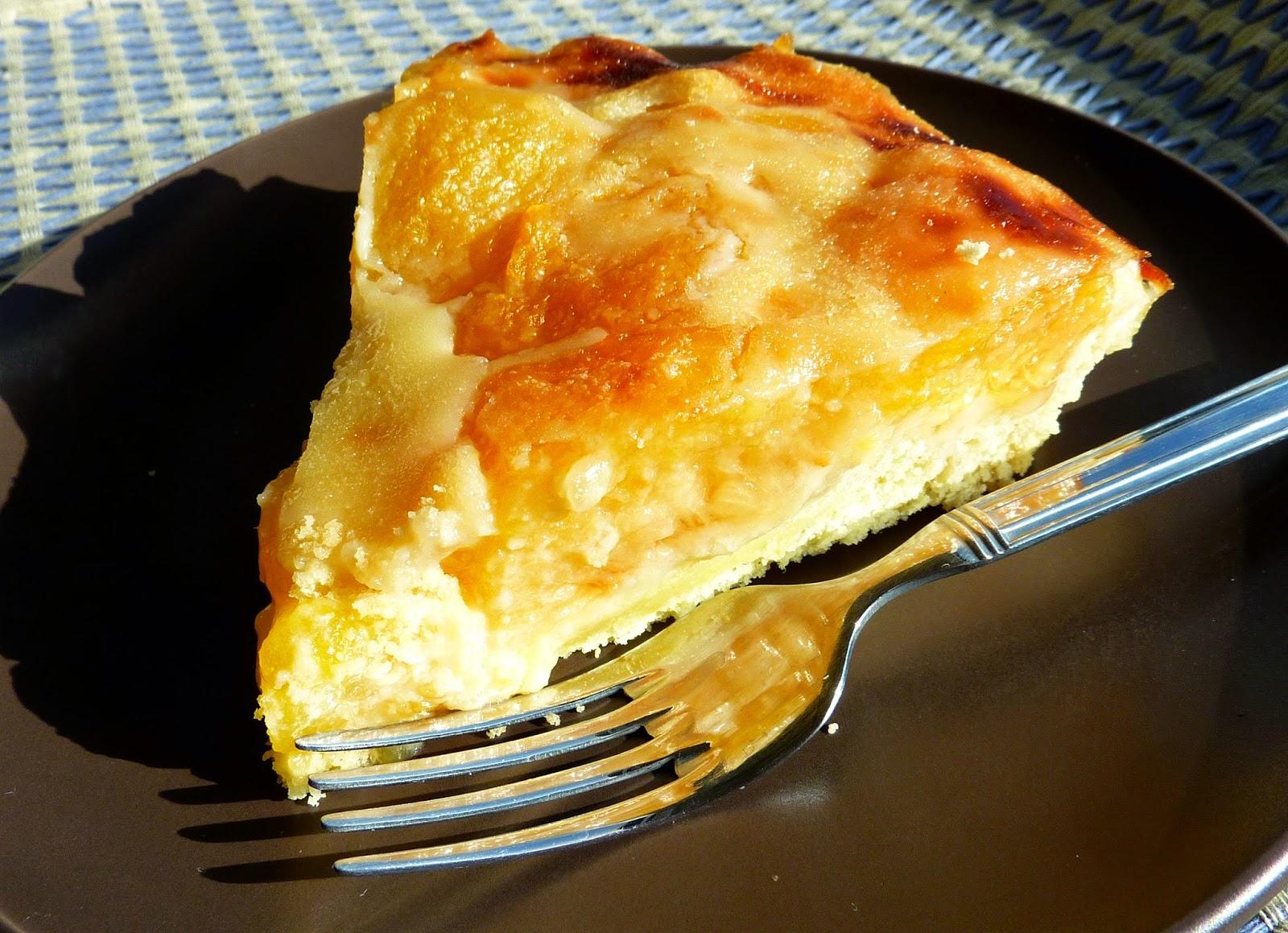 Tartaleta o Kuchen sin gluten de Ciruela