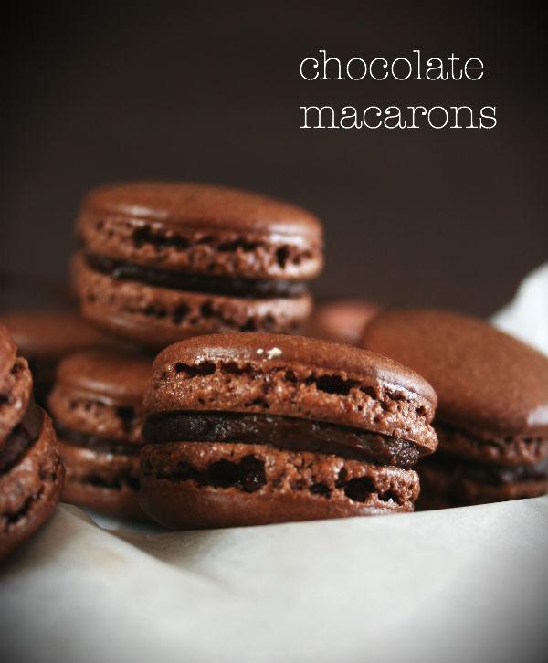 TUPLASUKLAA MACARONS - DOUBLE CHOCOLATE MACARONS