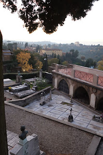San Miniato Florence Italy Gregorian Chant view to Firenze