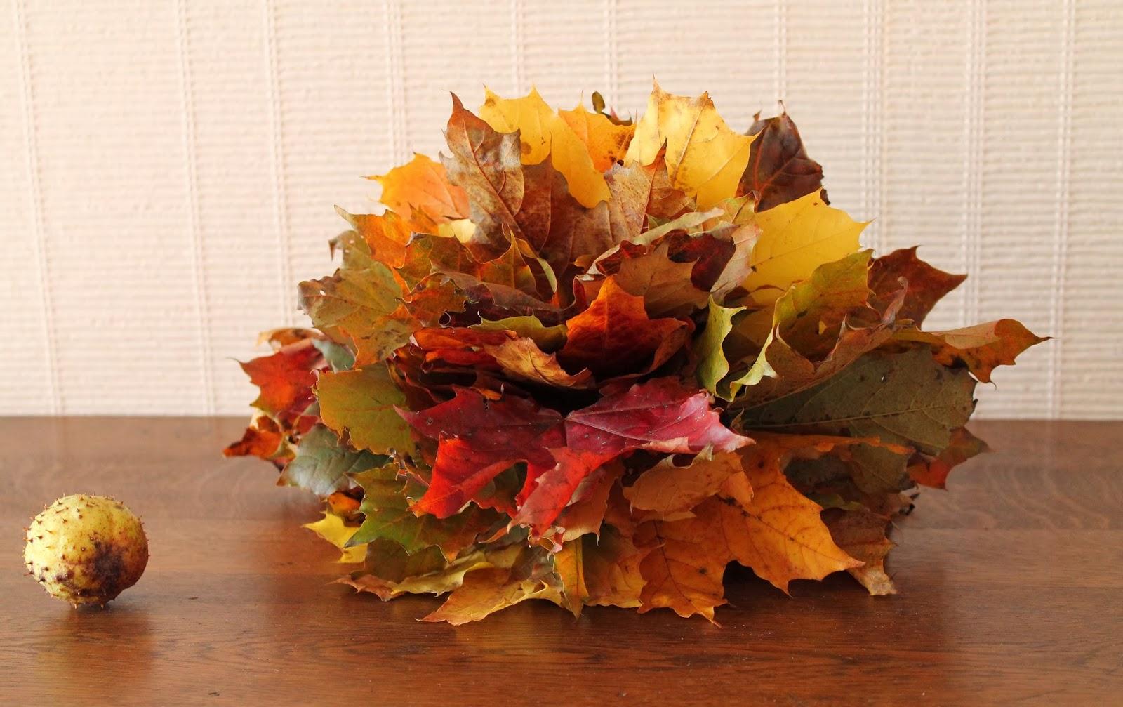 Bouquet de feuilles d 39 automne - Bouquet d automne ...