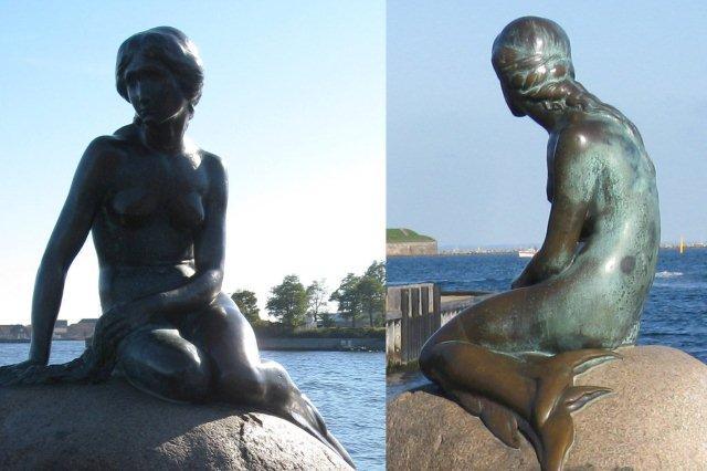 La Sirenita en Copenhague